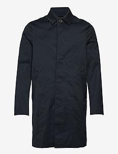 Cane Micro Twill Coat - leichte mäntel - jl navy