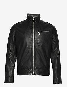 Sterling Leather jacket - lederjacken - black