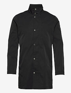 Terry Poly Stretch coat - leichte mäntel - black