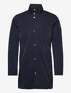 Terry Poly Stretch coat - manteaux legères - jl navy