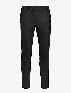 Grant-Frame - pantalons habillés - black