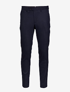 Grant-Frame - suit trousers - mid blue