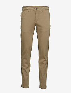 Chaze-High stretch - chinos - covert green
