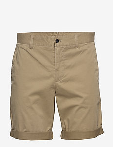 Nathan-Super Satin - tailored shorts - covert green
