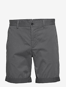 Nathan-Super Satin - tailored shorts - dark grey