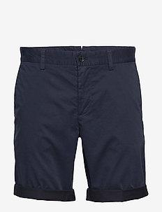 Nathan-Super Satin - tailored shorts - jl navy