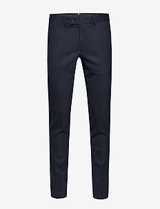 Grant-Frame - pantalons habillés - jl navy