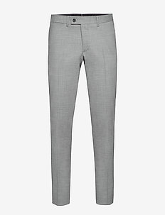 Grant-Frame - suit trousers - stone grey