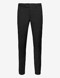 Grant Micro Structure Pants - suit trousers - black
