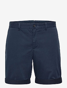 Nathan Super Satin Shorts - chinos shorts - jl navy