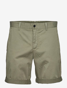 Nathan Super Satin Shorts - chinos shorts - sage