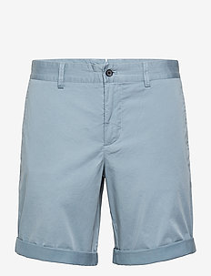 Nathan Super Satin Shorts - chinos shorts - steel blue