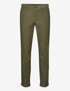 Chaze Stretch Cotton Pants - chinos - seaweed green