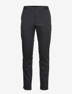 Chaze Flannel Twill Pants - chinos - dark grey