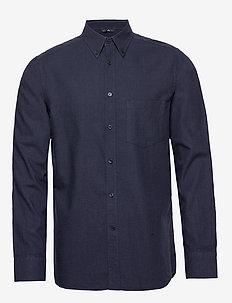 Daniel BD-Light Flannel - basic skjorter - jl navy