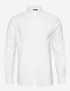 Daniel BD-Stretch Oxford - basic skjorter - white