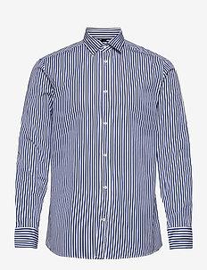 Daniel CL-Mason Pop Stripe - biznesowa - mid blue