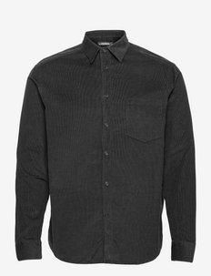 Corduroy Reg fit Shirt - chemises décontractées - black