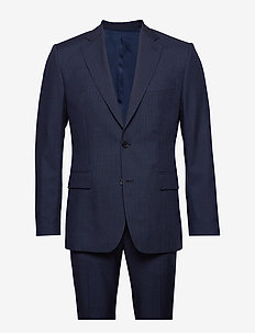 Donnie/G-Fancy Wool - enkeltradede jakkesæt - jl navy