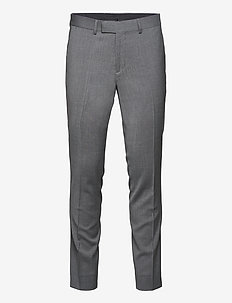 Grant Comfort Wool Pants - suitbukser - stone grey