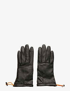 JL Leather-Leather Glove - BLACK