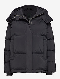 Sloane-Down Nylon - padded jackets - black