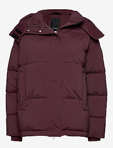 Sloane-Down Nylon - padded jackets - dark mocca