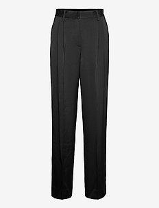 Avalon Loose Pants - broeken med straight ben - black