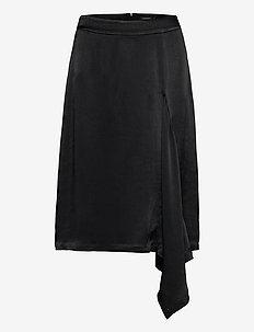Anja-Pliss' - midi skirts - black