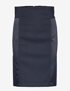 Jessi-Tech Com - midi skirts - jl navy