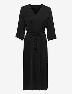 Sash Maxi Dress - zomerjurken - black