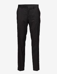 Paulie Comfort Wool - pantalons habillés - black