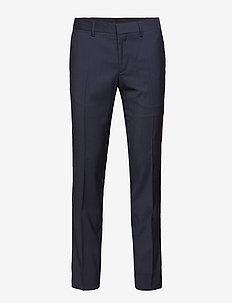 Paulie Comfort Wool - suit trousers - navy