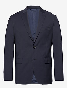 Hopper Soft Comfort Wool - single breasted suits - navy