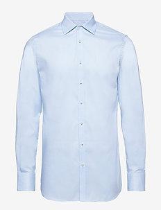 Daniel CA TL Non-iron Twill - basic skjortor - lt blue