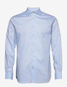Daniel CA TL Non-iron Oxford - oxford shirts - lt blue