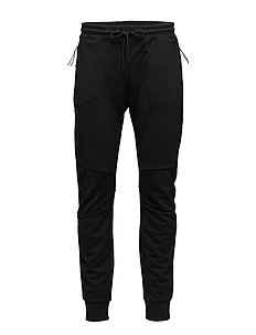 Act Sweatpants Mix Tech Terry - BLACK