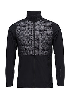 M Hybrid Jacket Lux Softshell - BLACK BUILDNING BRIDGES EMB. P