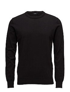 Niklas R-neck Refined Cotton - BLACK