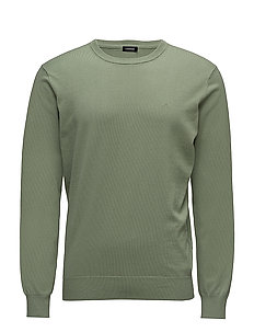 Niklas R-neck Refined Cotton - HEDGE GREEN