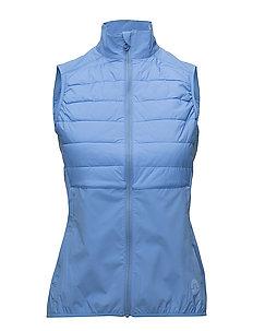 W Hybrid Vest Lux Softshell - SILENT BLUE