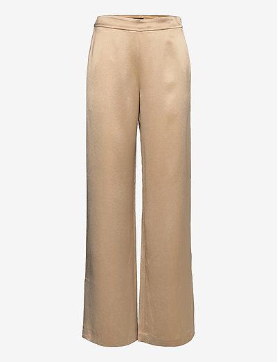 Mila-Fluid Crepe - broeken med straight ben - sheppard