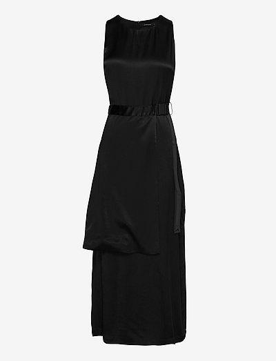 Klara-Pliss' - midi jurken - black