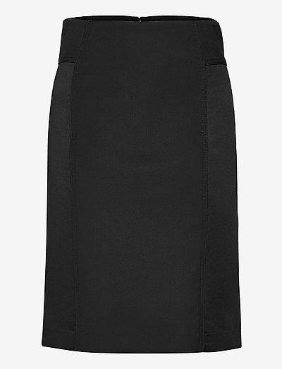 Jessi Midi Skirt - midi rokken - black
