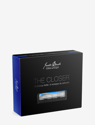 THE CLOSERTM 5-Blade Cartridge Razor 8-Count Refills - barberskraber - no colour