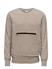 JCOKARIT SWEAT CREW NECK - SIMPLY TAUPE
