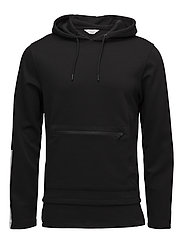 JCOADAM SWEAT HOOD - BLACK