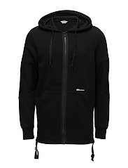 JCORIKO SWEAT ZIP HOOD - BLACK
