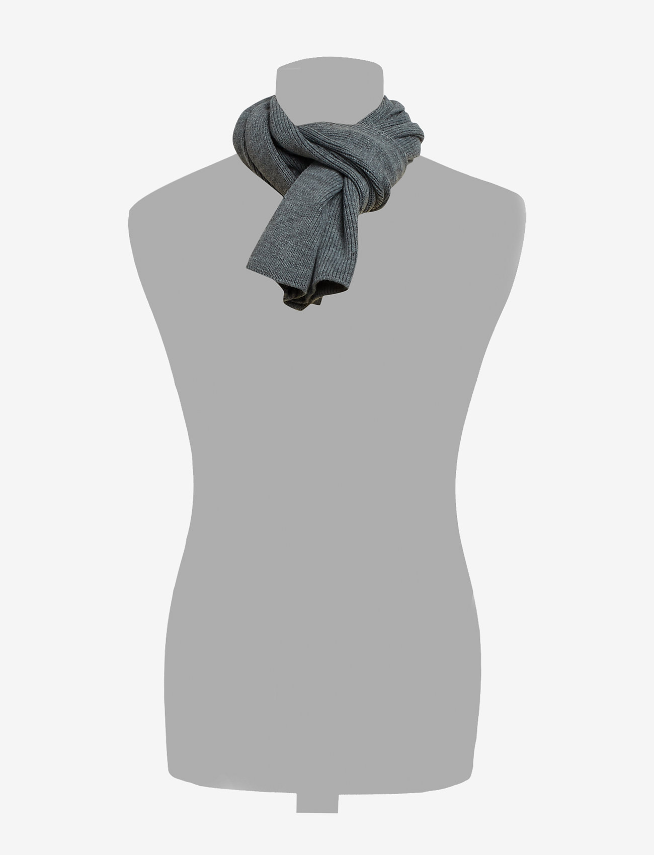 Jack & Jones - JACDNA KNIT SCARF JR - huivit - grey melange - 1
