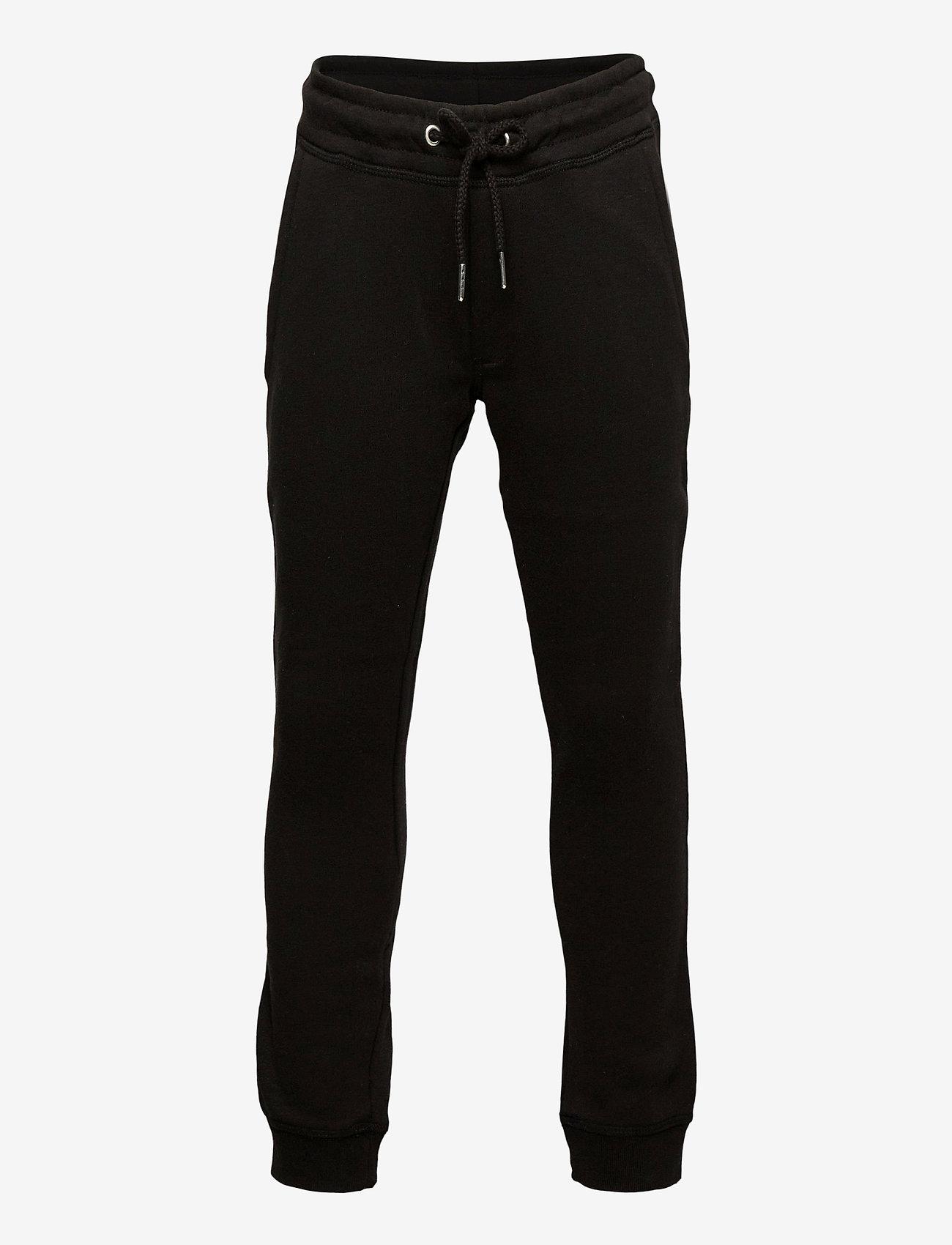 Jack & Jones - JJIGORDON JJSOFT SWEAT PANTS VG NOOS JR - verryttelyhousut - black - 0